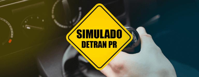 SIMULADO DETRAN PR